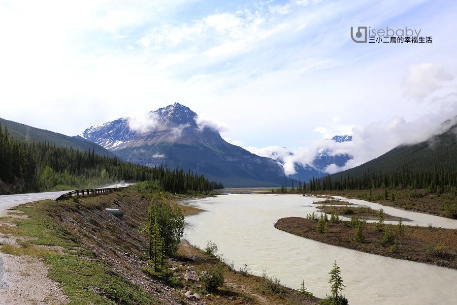 加拿大 | 加西露營行程Day 06。Jasper➠Lake Louise.世界上最美麗的冰原大道公路