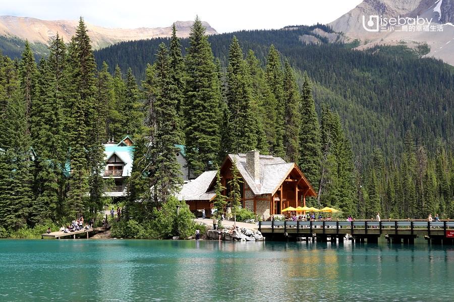 加拿大|Emerald Lake翡翠湖。幽鶴國家公園的綠寶石