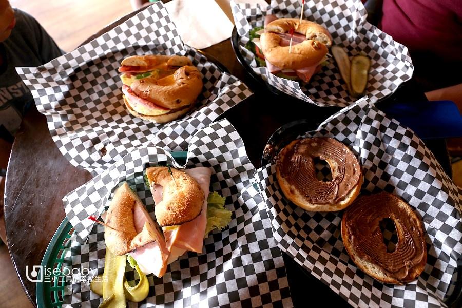 加拿大|美食推薦。Canmore人氣特色貝果店.Rocky Mountain Bagel Co