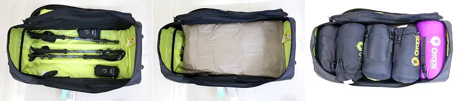 加拿大 2大3小22天的行李&露營裝備