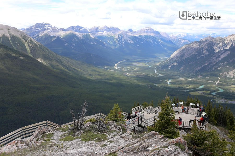 加拿大 | 班夫推薦必去景點。Banff Gondola班夫琉璜山纜車