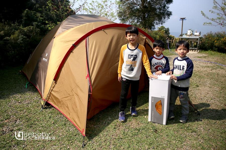 露營裝備 | 三小二鳥的帳篷