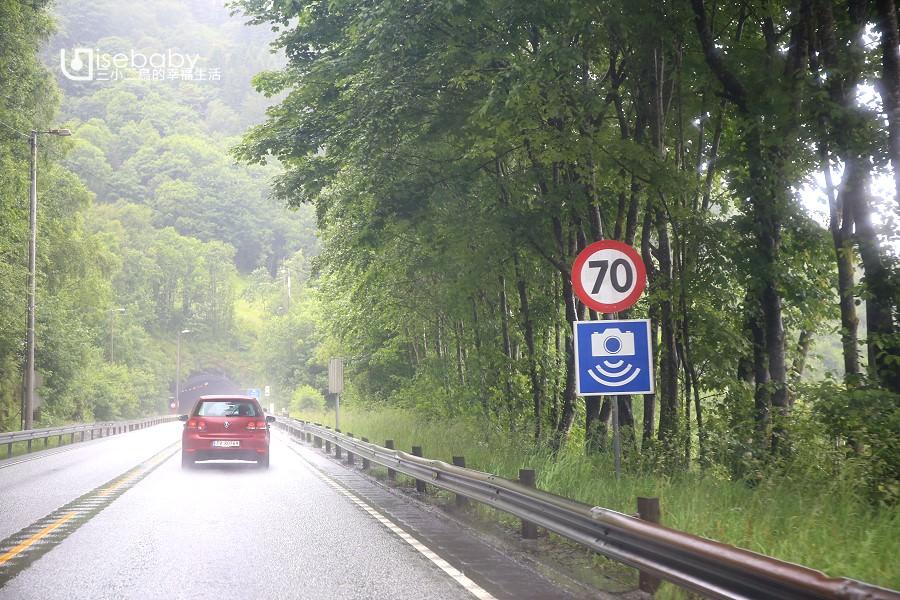 挪威 道路交通標誌介紹.測速照相機Automatic speed control