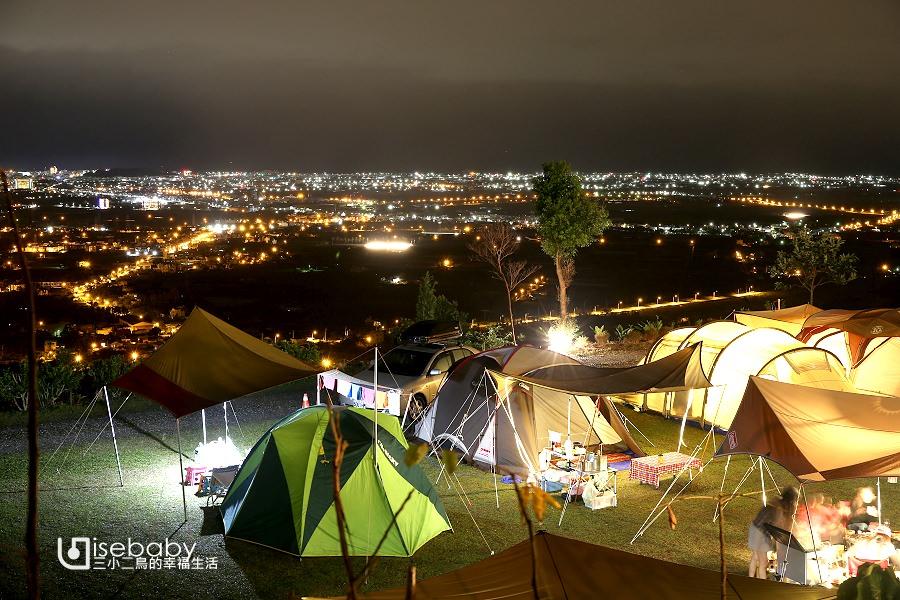 露營 | 台東卑南。台東祕境露營區.無敵百萬夜景推薦營地