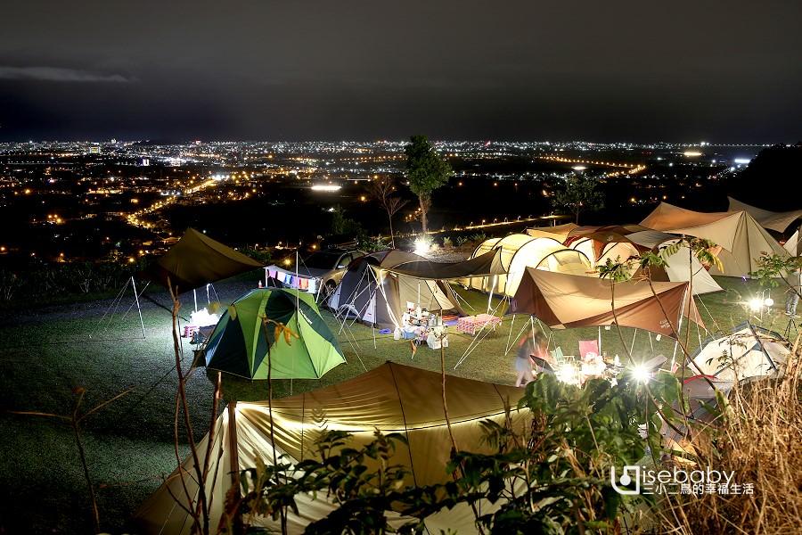 露營   台東卑南。台東祕境露營區.無敵百萬夜景推薦營地