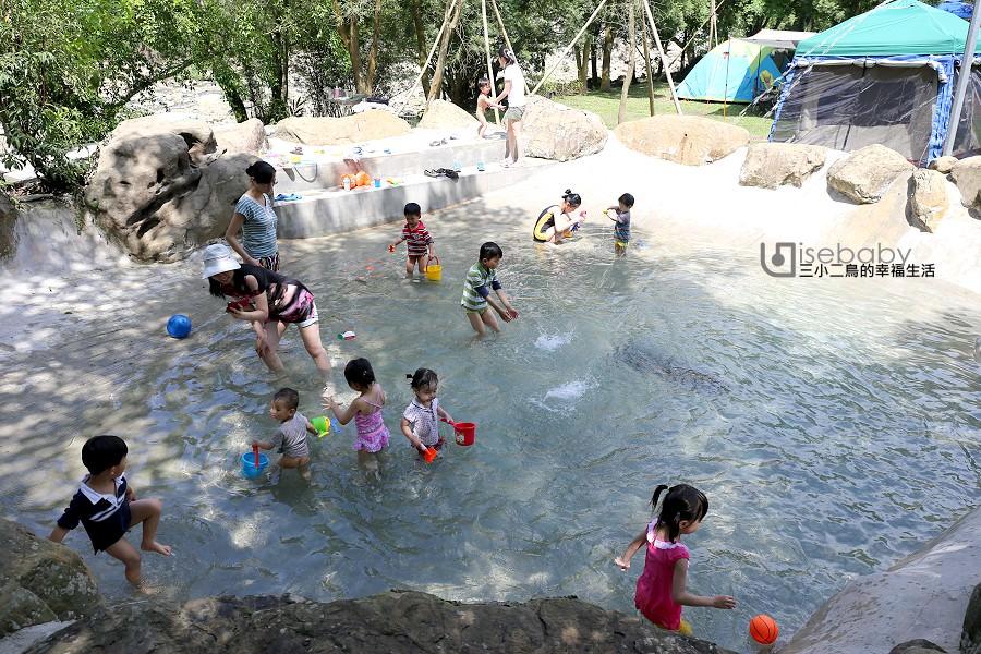 露營營地總整理 | 戲水營地。水池泳池戲水趣