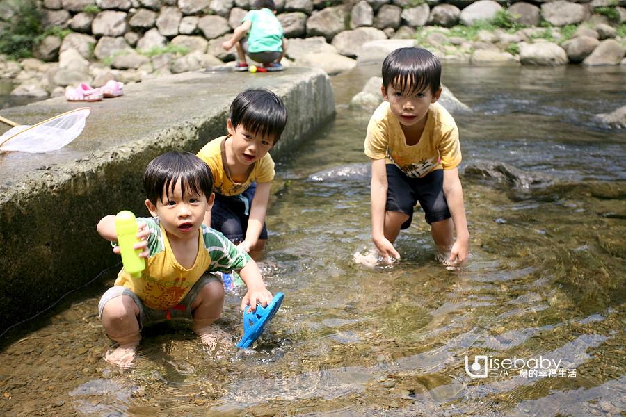 露營營地總整理   近溪流營地。清涼溪流好消暑