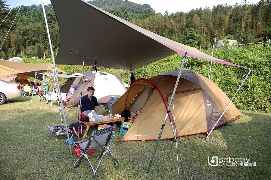 露營 | 新竹尖石。怪獸綠境露營區.適合團露的高海拔營地
