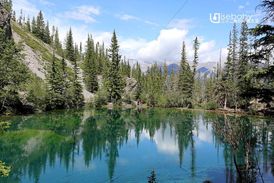 加拿大   洛磯山脈近郊私房景點推薦。Grassi Lakes Trail健行步道