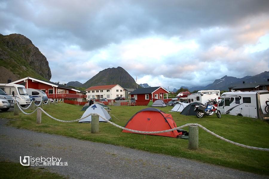 挪威   在北極圈羅浮敦群島露營.Ramberg Gjestegård