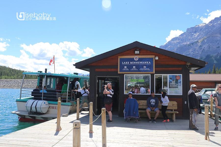 加拿大   明尼旺卡湖Lake Minnewanka。洛磯山脈國家公園最長的人工湖