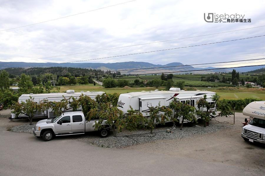 加拿大露營 | 搭帳在蘋果樹下。Apple Valley Orchard & RV Park