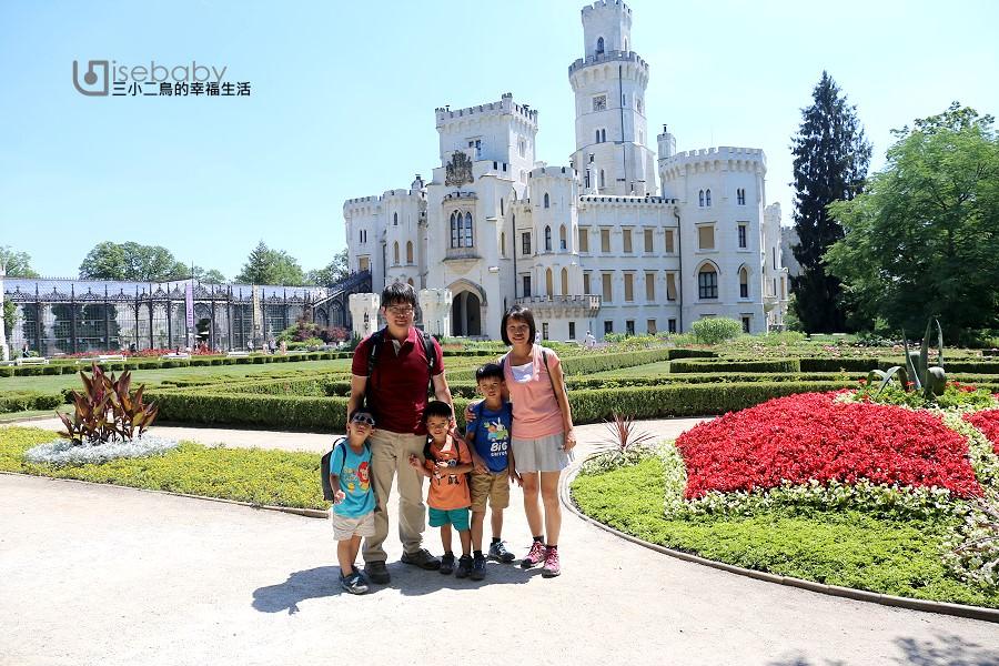 捷克自助。王子與公主的夢幻城堡Hluboka Castle