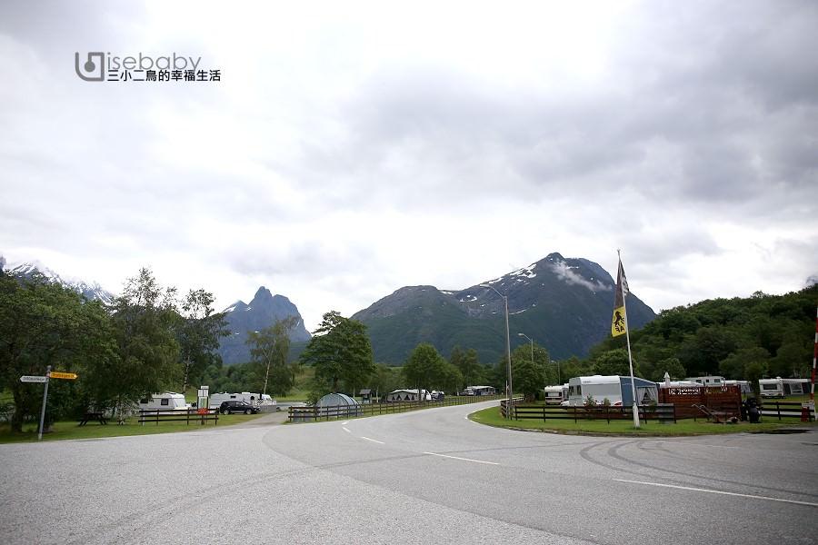 挪威   露營。黃金之路住宿推薦.Andalsnes Camping & Motell