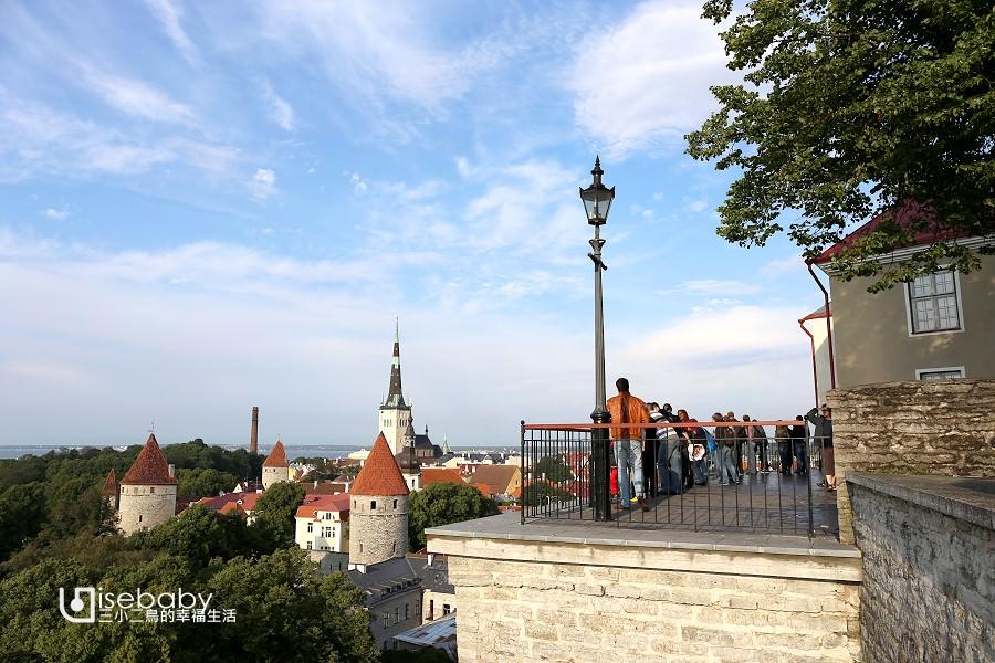 愛沙尼亞 | 眺望首都塔林舊城美景最佳的3大觀景台