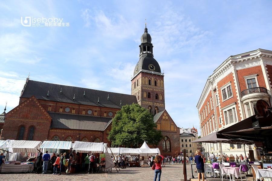 拉脫維亞|波羅的海最大中世紀教堂。里加主教座堂