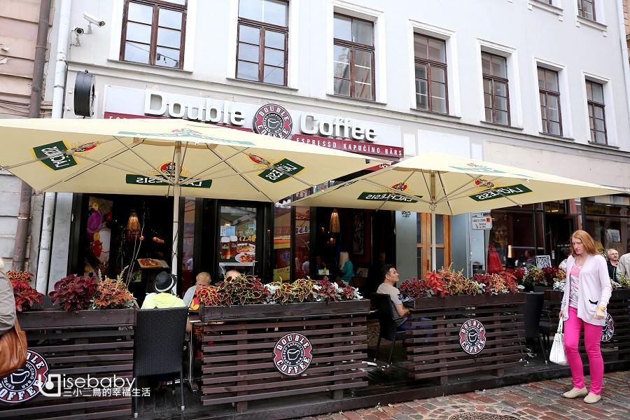 拉脫維亞|平價連鎖咖啡店推薦。Double Coffee