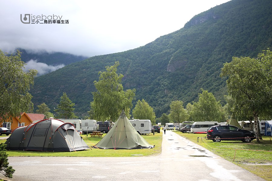 挪威露營。三小二鳥的百露營地Lardal Ferie- og Fritidspark