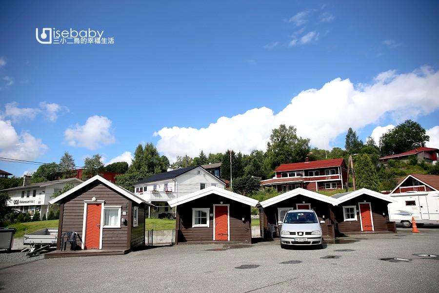 挪威露營 | 卑爾根最近住宿營地。Midttun Motell & Camping