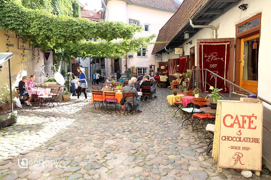 愛沙尼亞   塔林人氣咖啡館。Pierre Chocolaterie