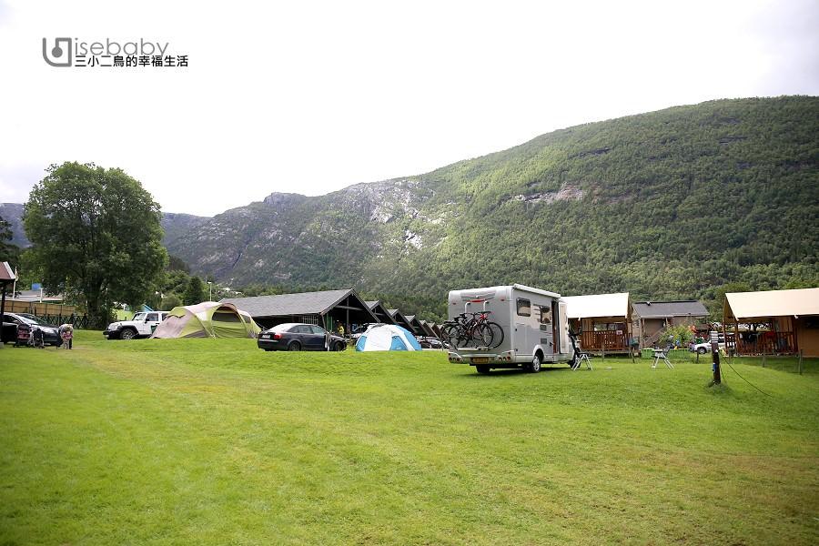 挪威露營   惡魔之舌住宿營地推薦。Bråvoll Camping