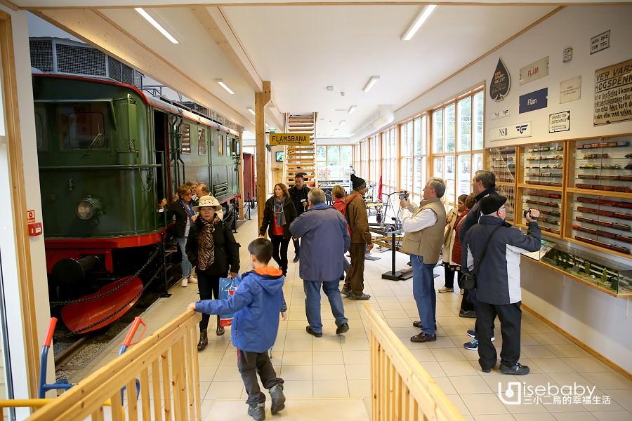 挪威免費景點。弗洛姆鐵道博物館