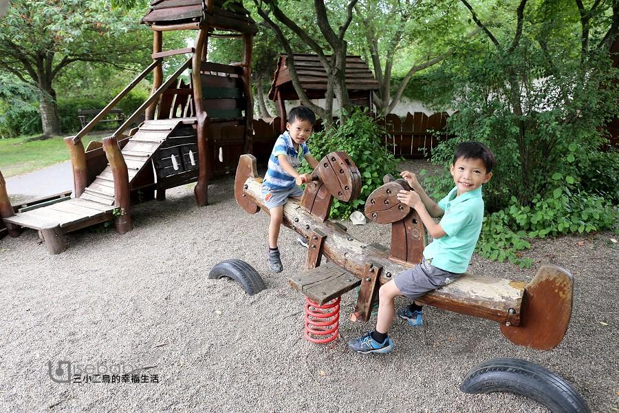 捷克親子景點推薦 | 布拉格特色公園。高堡區兒童遊樂場