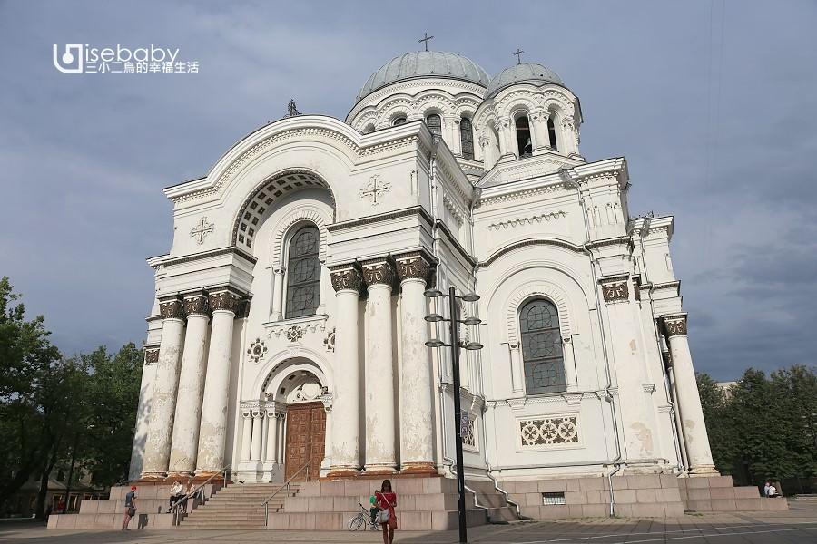 立陶宛 | 考納斯拜占庭式教堂。聖彌額爾總領天使教堂