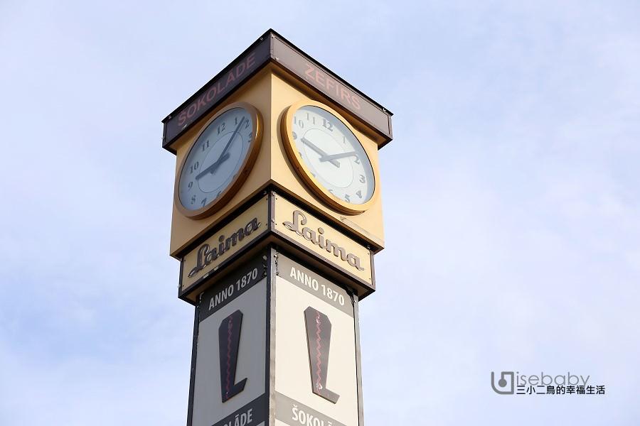 拉脫維亞 | 里加拍照地標。Laima Clock萊瑪鐘