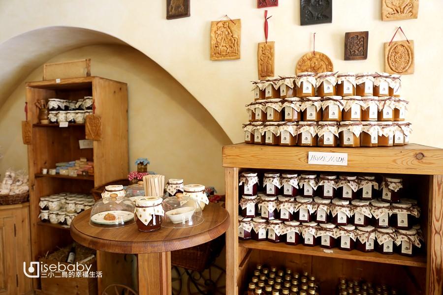 捷克庫倫諾夫傳統薑餅店。蜂蜜必買Český Perník