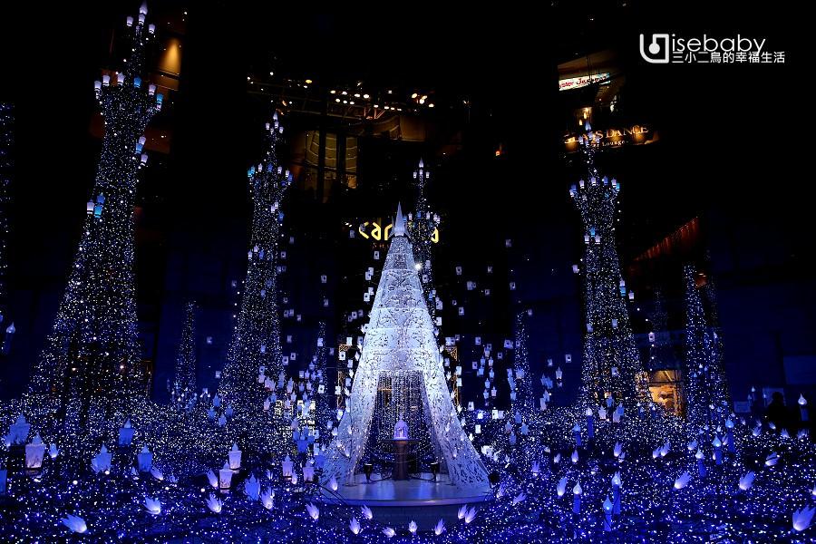東京聖誕點燈推薦景點。汐留Caretta Illumination 2018迪士尼MovieNEX