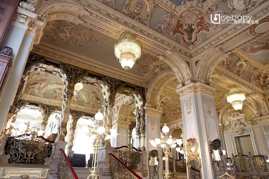 布達佩斯。世界最美紐約咖啡館NEW YORK CAFE