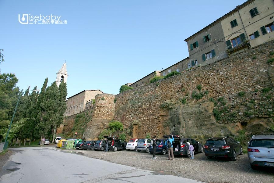 義大利自助 托斯卡尼世界遺產小鎮Pienza皮恩札 散步地圖行程攻略