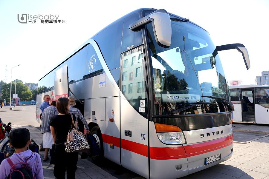 立陶宛 | 坐巴士遊歐洲。考納斯前往克萊佩達交通
