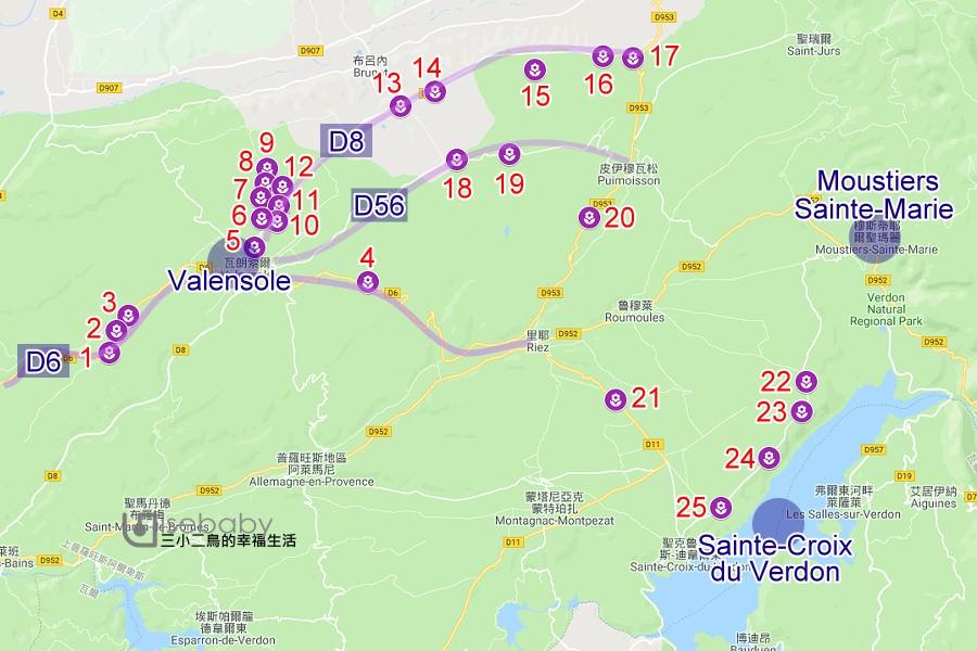 絕美!南法普羅旺斯Valensole薰衣草之路全攻略。25處拍照點GPS座標不藏私大公開!