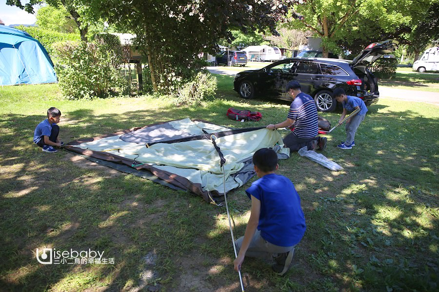 法國露營。安錫滑水道營地推薦Camping la Ravoire