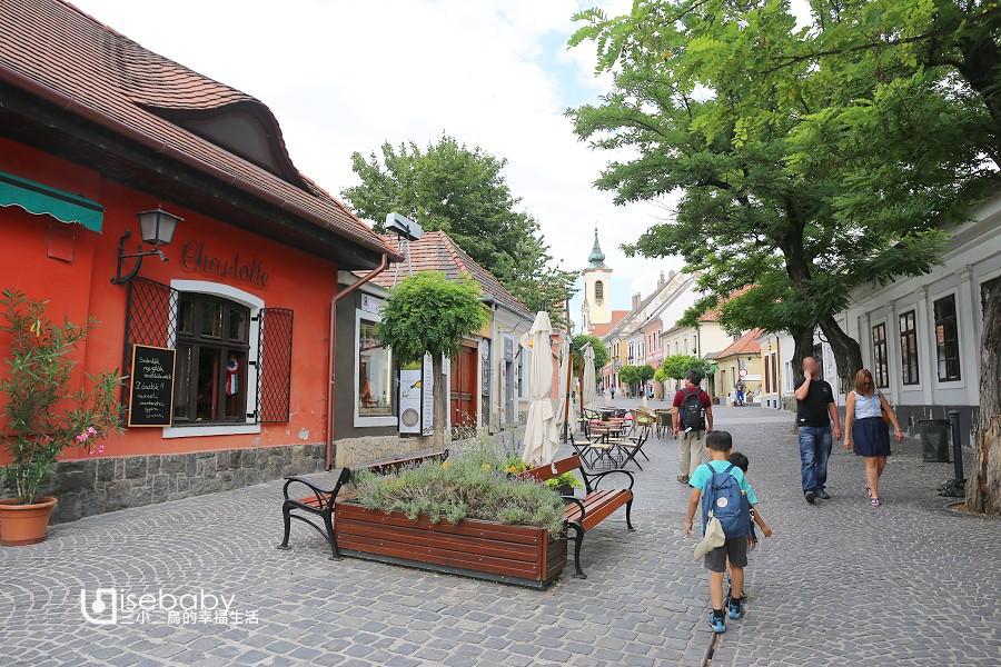 匈牙利自助。布達佩斯一日遊推薦聖安德烈Szentendre 散步地圖行程攻略