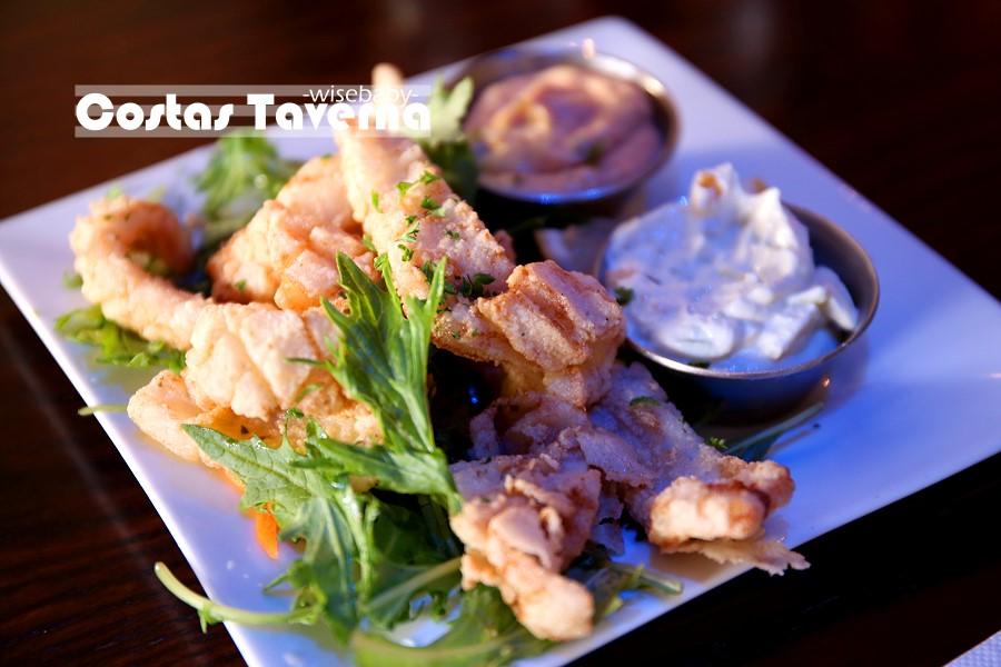 紐西蘭基督城美食 希臘餐廳Costas Taverna Greek Restaurant and Ouzo Bar