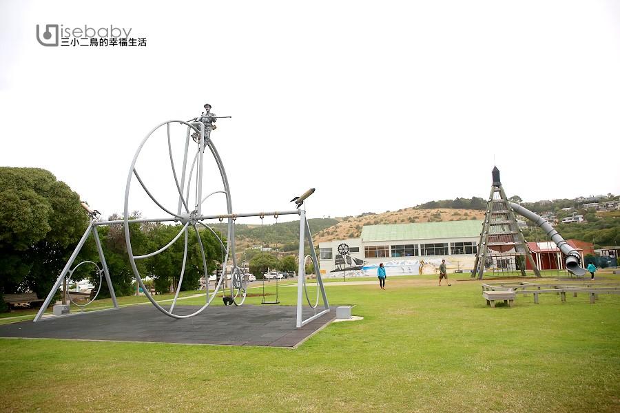 紐西蘭特色公園 必玩奧瑪魯Steampunk playground兒童遊戲場