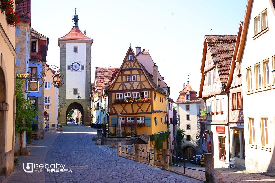 德國自由行.羅騰堡自助懶人包。交通、必去景點、行程、美食、住宿總整理