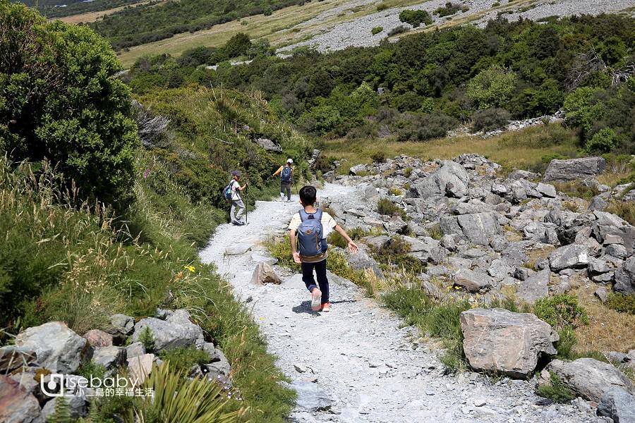 紐西蘭南島健行步道推薦.庫克山Kea Point Track步道