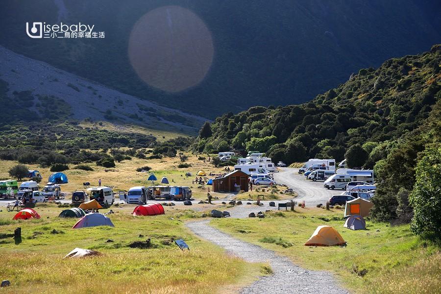 紐西蘭露營.南島庫克山國家公園White Horse Hill Campsite白馬山營地