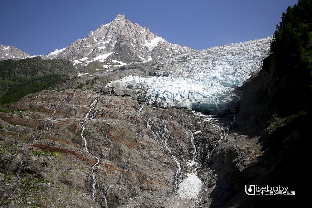 法國霞慕尼Bossons Glacier波松冰河吊纜 看世界上移動速度最快的冰川