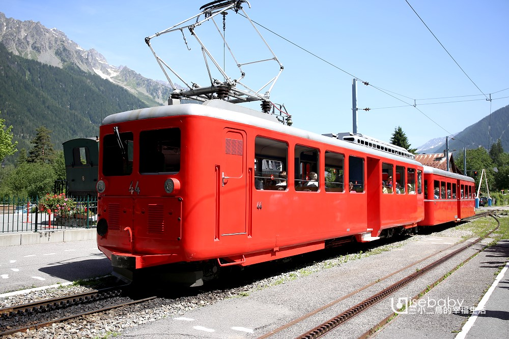 法國霞慕尼必去Montenvers-Mer de Glace蒙特維冰河列車
