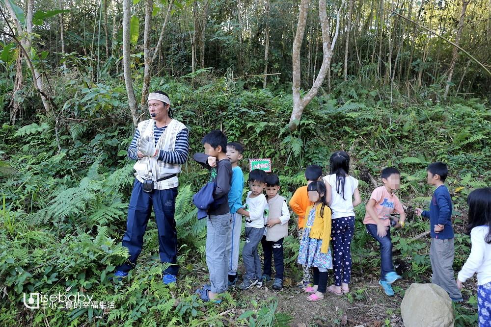 露營懶人包 提供生態導覽的親子營地
