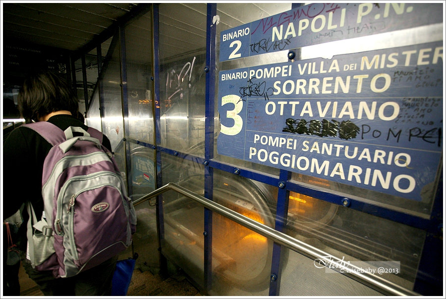 [義大利親子自助] 交通-羅馬至龐貝的交通方式