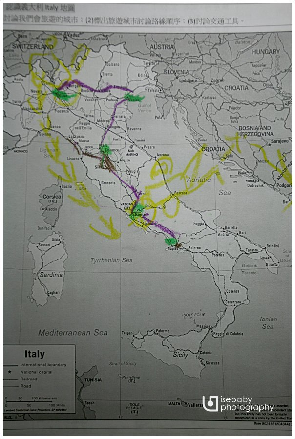 [義大利親子自助] 親子參與-地理::認識世界&義大利MAP
