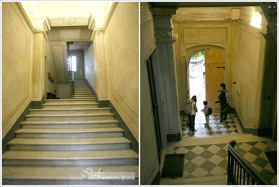 [義大利親子自助] 住宿-La Spezia::住火車站隔壁Affittacamere Casa Dane