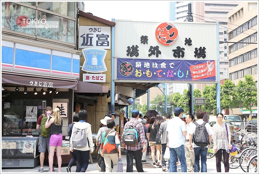 [東京自助] 景點-築地::媽媽採買的好地方.築地場外市場