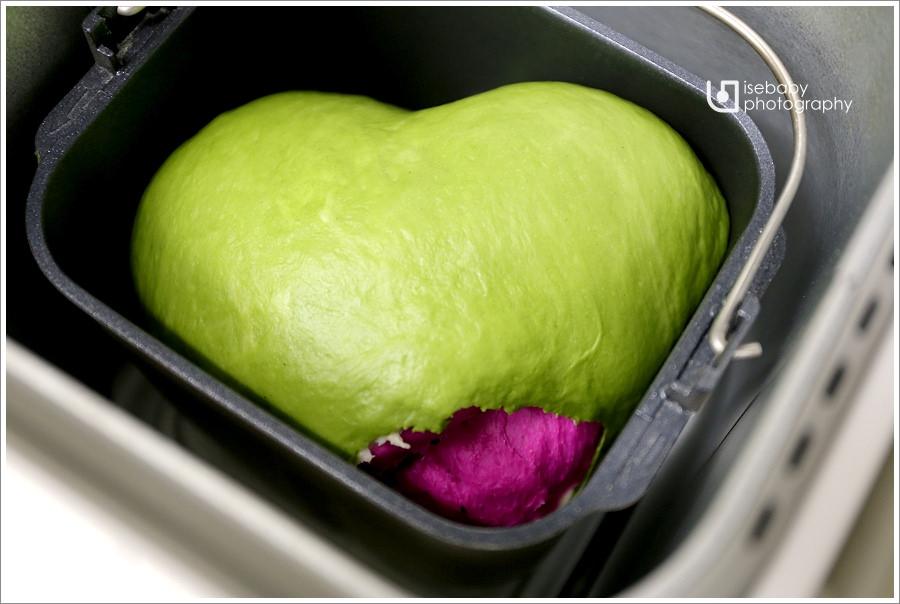 [親子烘焙] 105T麵包機::可愛又色彩天然的『西瓜吐司』